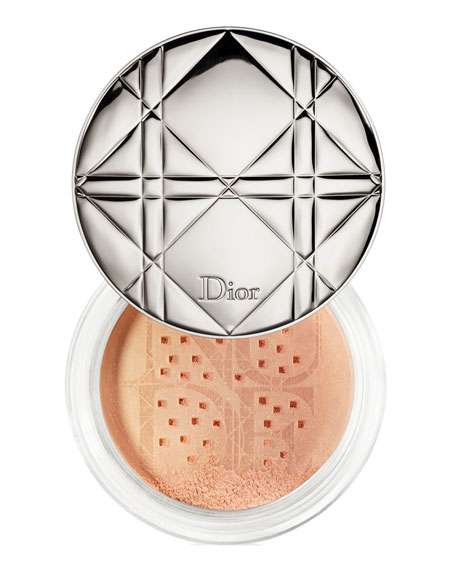 Limited Edition Diorskin Nude Air Summer Glow Shimmering Loose Powder - Polka Dots Collection