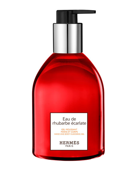 Eau de rhubarbe écarlate Hand & Body Cleansing Gel, 10 oz.