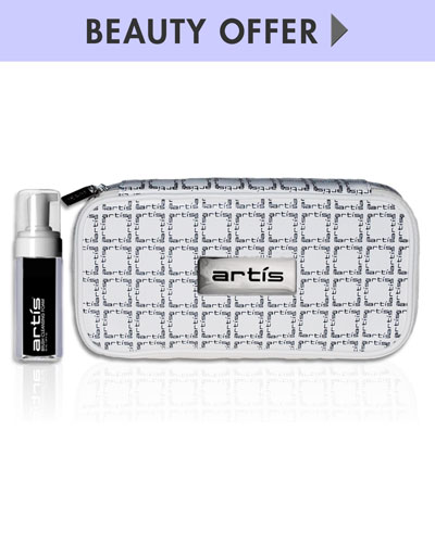 Yours with any $150 Artis purchase—Online only*