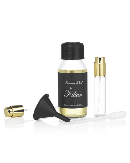 Incense Oud Refill with its Funnel and Pump, 1.7 oz./ 50 mL