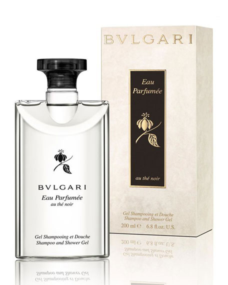BVLGARI Au the Noir Shampoo and Shower Gel,