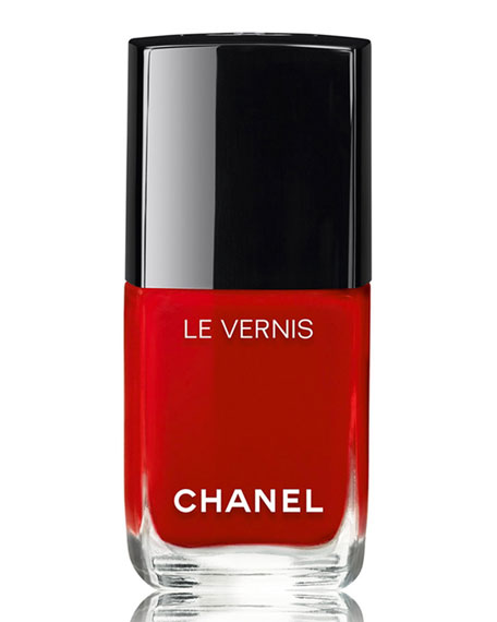 <b>LE VERNIS - LE ROUGE COLLECTION N°1</b><br>Longwear Nail Colour