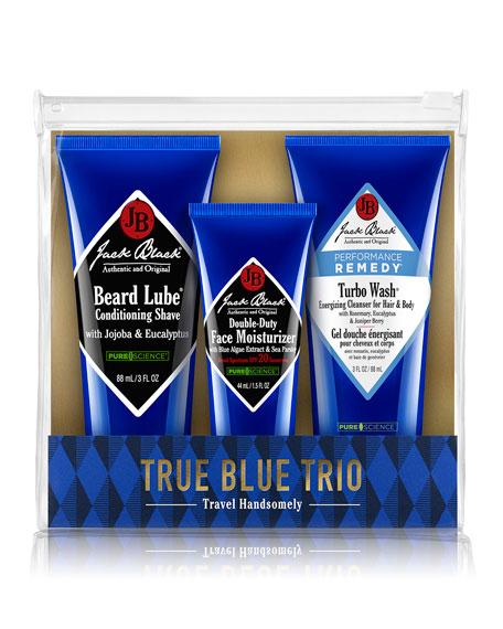 Jack Black True Blue Trio Set in Pouch