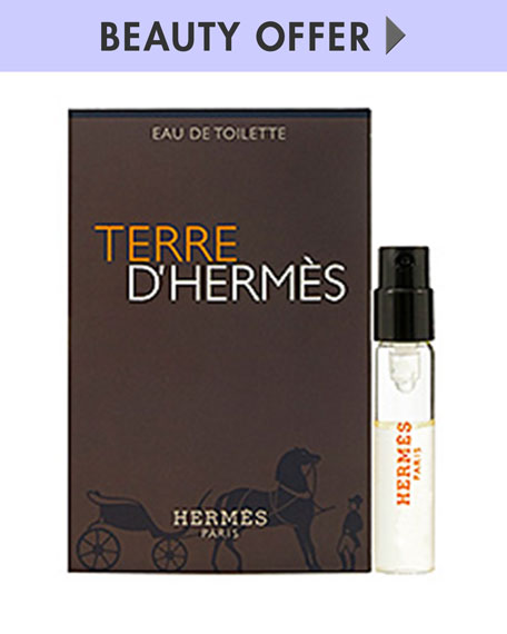 Terre d'Hermès Vial on Card, 2 mL