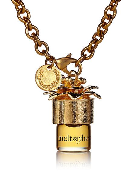 "meltmyheart 38"" perfume necklace, 1.25 ml"