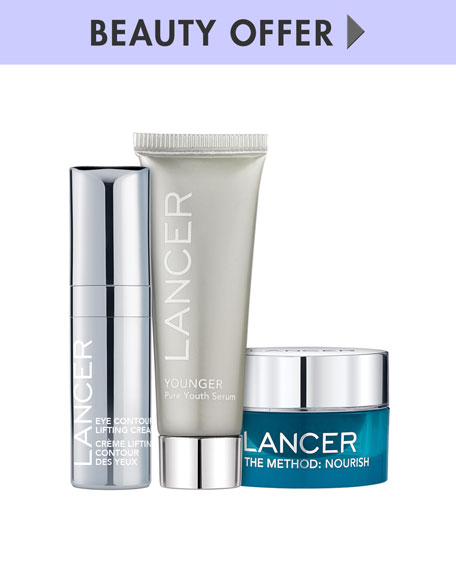 Receive a free 3-pc gift with your $150 LANCER purchase