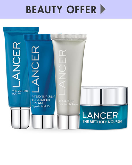 Receive a free 4-piece bonus gift with your $250 LANCER purchase
