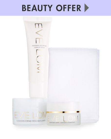 Receive a free 5-piece bonus gift with your $150 Eve Lom purchase