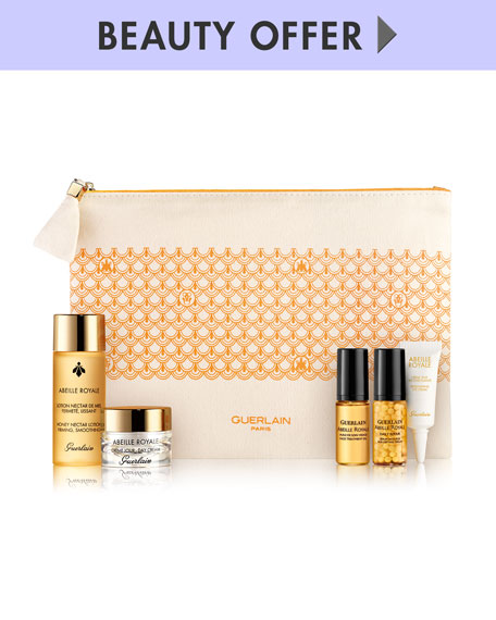 Receive a free 6-piece bonus gift with your $200 Guerlain purchase