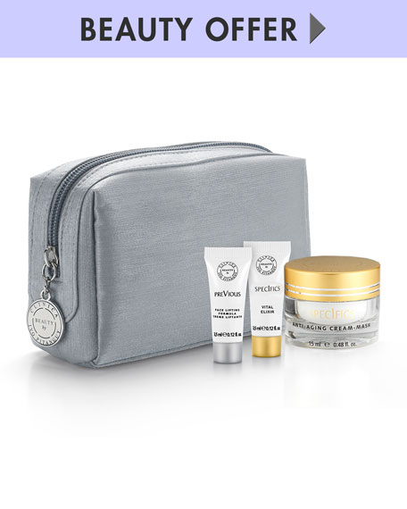 Receive a free 4-piece bonus gift with your $350 Beauty by Clinica Ivo Pitanguy purchase