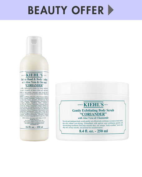 Receive a free 6-piece bonus gift with your $150 Kiehl's purchase