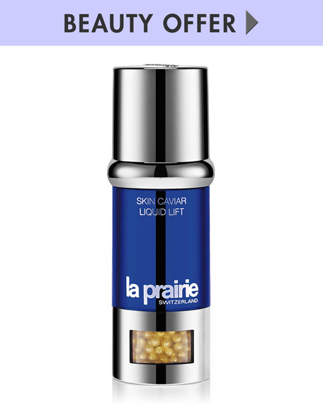 Yours with any $700 La Prairie purchase—Online only*