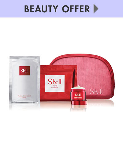 Yours with any $300 SK-II purchase—Online only*