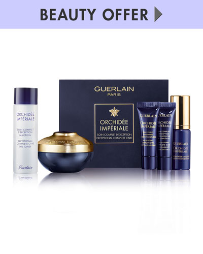 Yours with any $400 Guerlain purchase