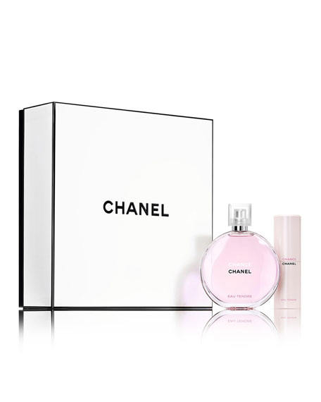 CHANEL CHANCE EAU TENDRETRAVEL SPRAY SET