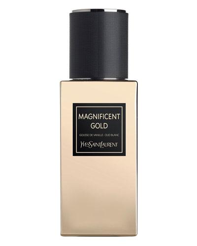 Exclusive LE VESTIAIRE DES PARFUMS Collection Orientale Magnificent Gold Eau de Parfum  2.5 oz./ 75 mL