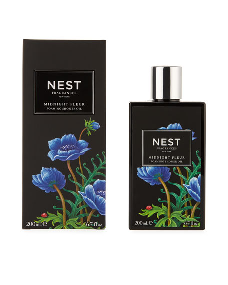 Nest Fragrances Midnight Fleur Foaming Shower Oil, 6.7