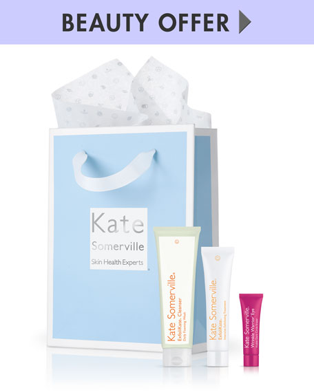 Yours with any $150 Kate Somerville Purchase