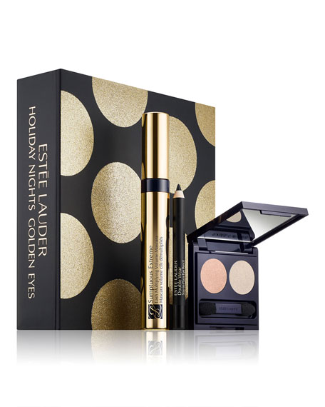 Limited Edition Holiday Nights Golden Eyes ($52 Value)