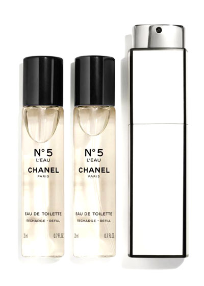 <b>N°5 L'EAU</b> <br> Eau de Toilette Purse Spray
