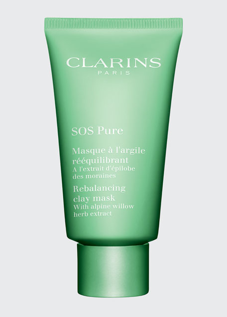 Clarins SOS Pure Mask, 2.5 oz./ 75 mL