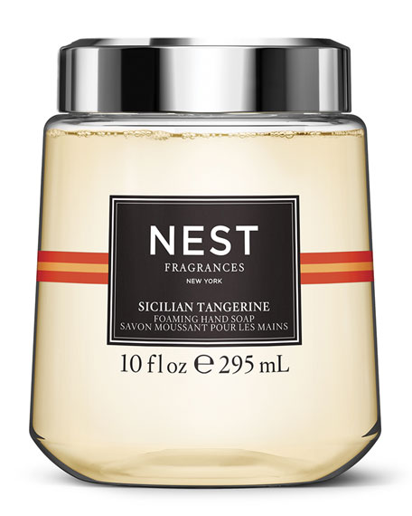 NEST Fragrances Sicilian Tangerine Foaming Hand Wash Cartridge for simplehuman Sensor Pump, 10 oz./ 296 mL