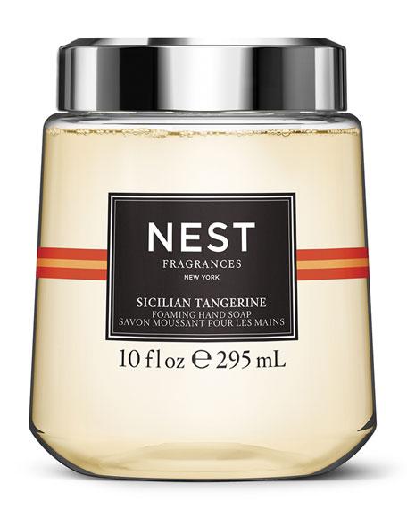 NEST Fragrances Sicilian Tangerine Foaming Hand Wash Cartridge for simplehuman Sensor Pump, 10 oz./ 296 mL