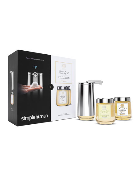 Foam Cartridge Sensor Pump Gift Set, Featuring Antica Farmacista