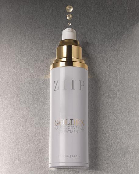 ZIIP Beauty Golden Conductive Gel, 2.7 oz./ 80 mL