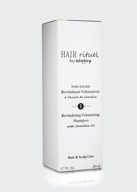 Revitalizing Volumizing Shampoo with Camellia Oil, 6.7 oz./ 200 mL