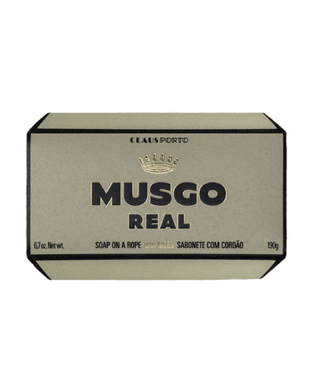 Oak Moss Soap on a Rope, 6.7 oz. / 190 g