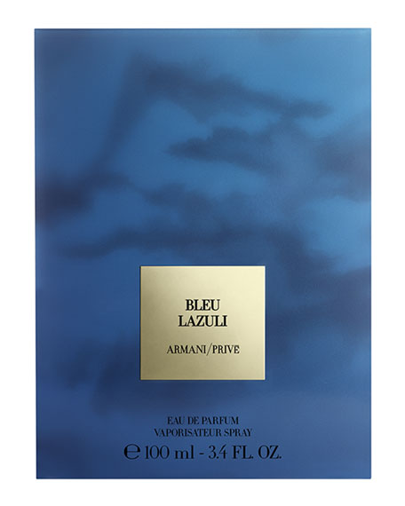 Armani Prive Bleu Lazuli Eau de Parfum, 3.4 oz./ 100 mL