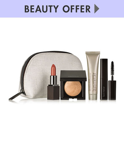 Yours with any $85 Laura Mercier Purchase