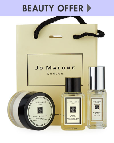 Yours with any $130 Jo Malone London Purchase—Online only*