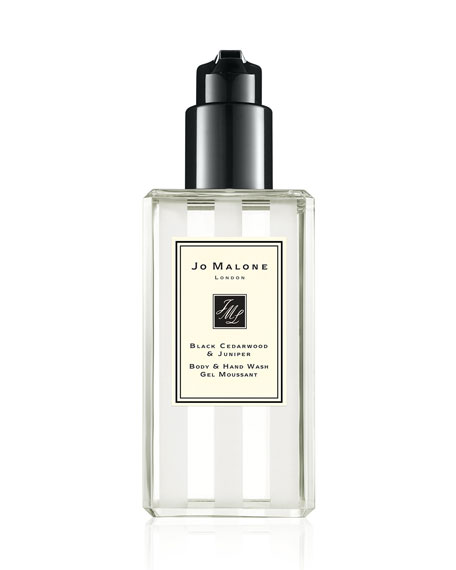Black Cedarwood & Juniper Body & Hand Wash, 8.4 oz./ 250 mL