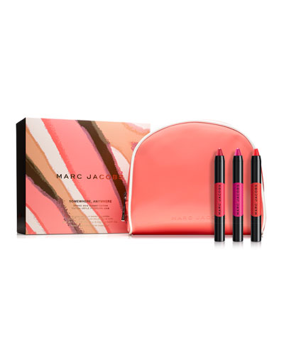 Somewhere, Anywhere Le Marc Liquid Lip Crayon Collection