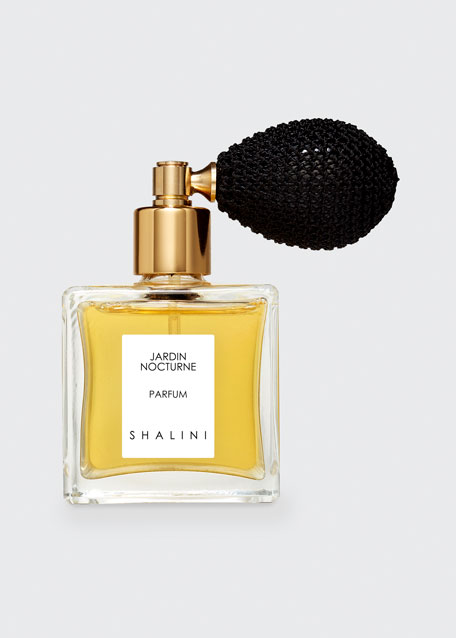 Shalini Parfum Jardin Nocturne Cubique Glass Bottle with