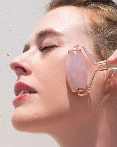 Rose Quartz Facial Beauty Roller