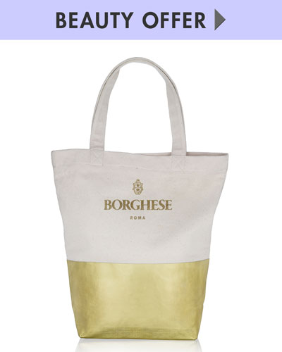 Yours with any $75 Borghese Purchase—Online only*