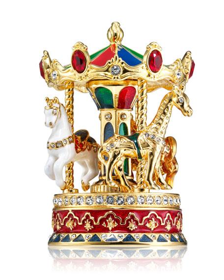 Estee Lauder Beautiful Carousel Perfume Compact