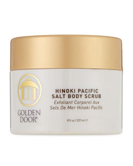 Hinoki Pacific Salt Body Scrub, 8.0 oz./ 237 mL