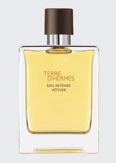 Terre d'Hermes Eau Intense Vetiver Eau de Parfum, 3.4 oz./ 100 mL