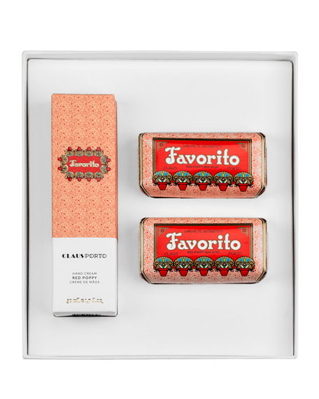 FAVORITO Hand Cream and Mini Soap Set