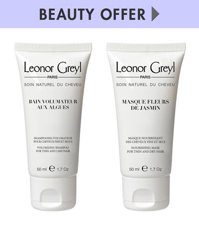 Yours with any $75 Leonor Greyl Purchase