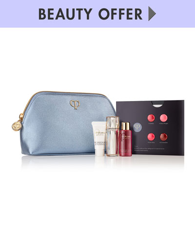 Yours with any $300 Cle de Peau Purchase
