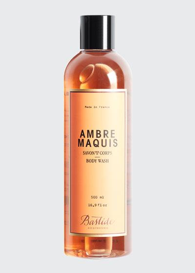 Ambre Maquis Body Wash  17 oz./ 500 mL