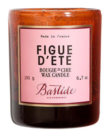 Figue d'Ete Wax Candle, 6.7 oz./ 190 g
