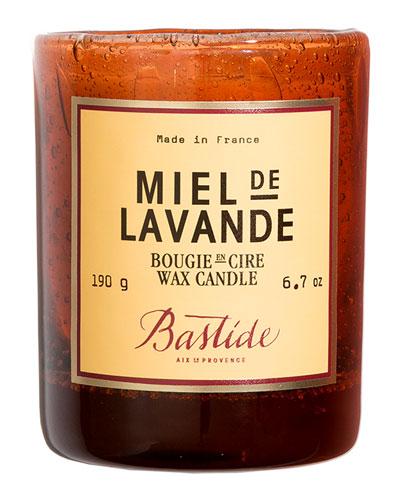Miel de Lavande Wax Candle  6.7 oz./ 190 g