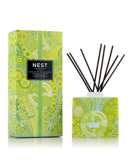 Coconut & Palm Reed Diffuser, 5.9 oz.
