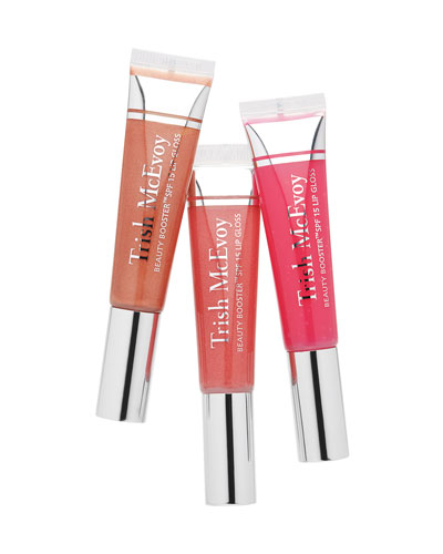 Beauty Booster Lip Gloss SPF 15 Trio